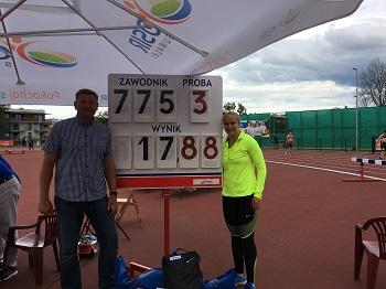 <strong>Mistrzyni</strong> Polski – Klaudia Kardasz